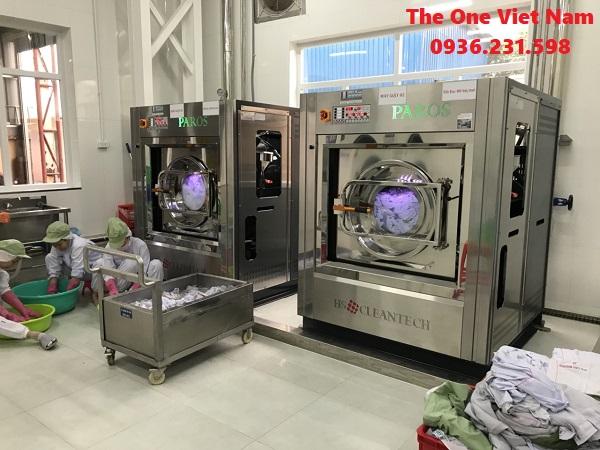 cung cấp máy giặt công nghiệp cho bệnh viện ở Bắc Ninh