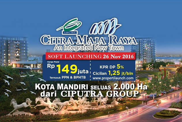 Soft Launching Citra Maja Raya 2