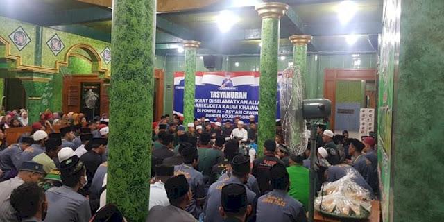 Menkumham Tolak KLB Sibolangit, Pondok Pesantren Al Asyari Gelar Syukuran