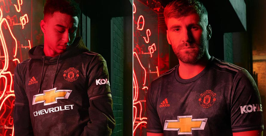 premium selection c752b 69f2c Manchester United 19-20 Third Kit Released - Footy Headlines