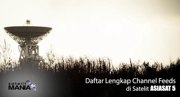 Daftar Lengkap Channel Feeds di Satelit Asiasat 5 Terbaru