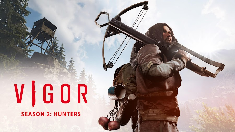 vigor update 2.0 hunters battle pass outlanders february 2020 xbox one bohemia interactive free-to-play multiplayer looter shooter game