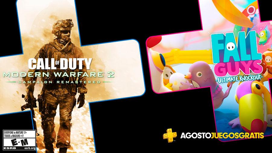 Juegos gratis PS Plus Agosto 2020