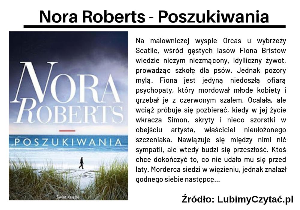 Nora Roberts - Poszukiwania, Cykl książkowy, Marzenie Literackie