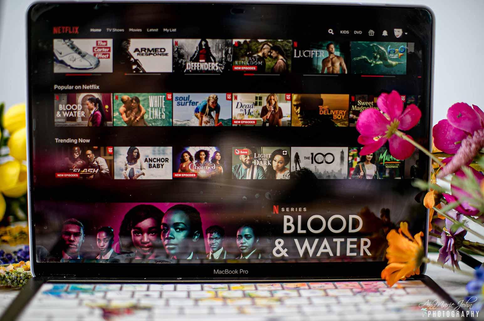 Netflix on Computer