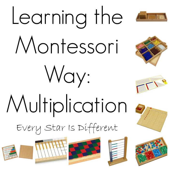 Learning the Montessori Way: Multiplication