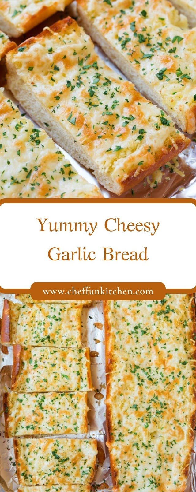 Yummy Cheesy Garlic Bread