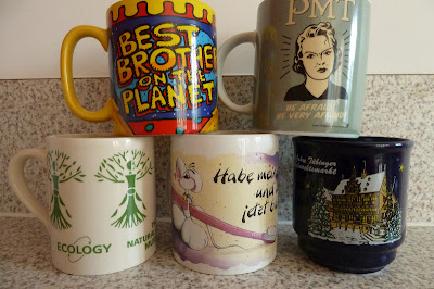 My five favourite mugs