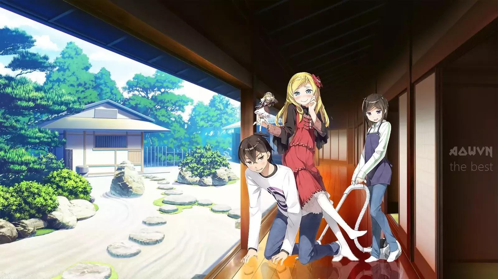 AowVN m%2B%25283%2529 - [ Anime 3gp Mp4 ] Imouto sae Ireba Ii | Vietsub - Hài Hước