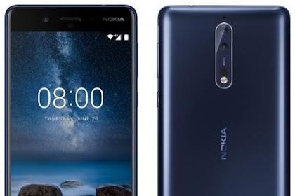 Spesifikasi Nokia 8, Harga Barunya 6 Jutaan