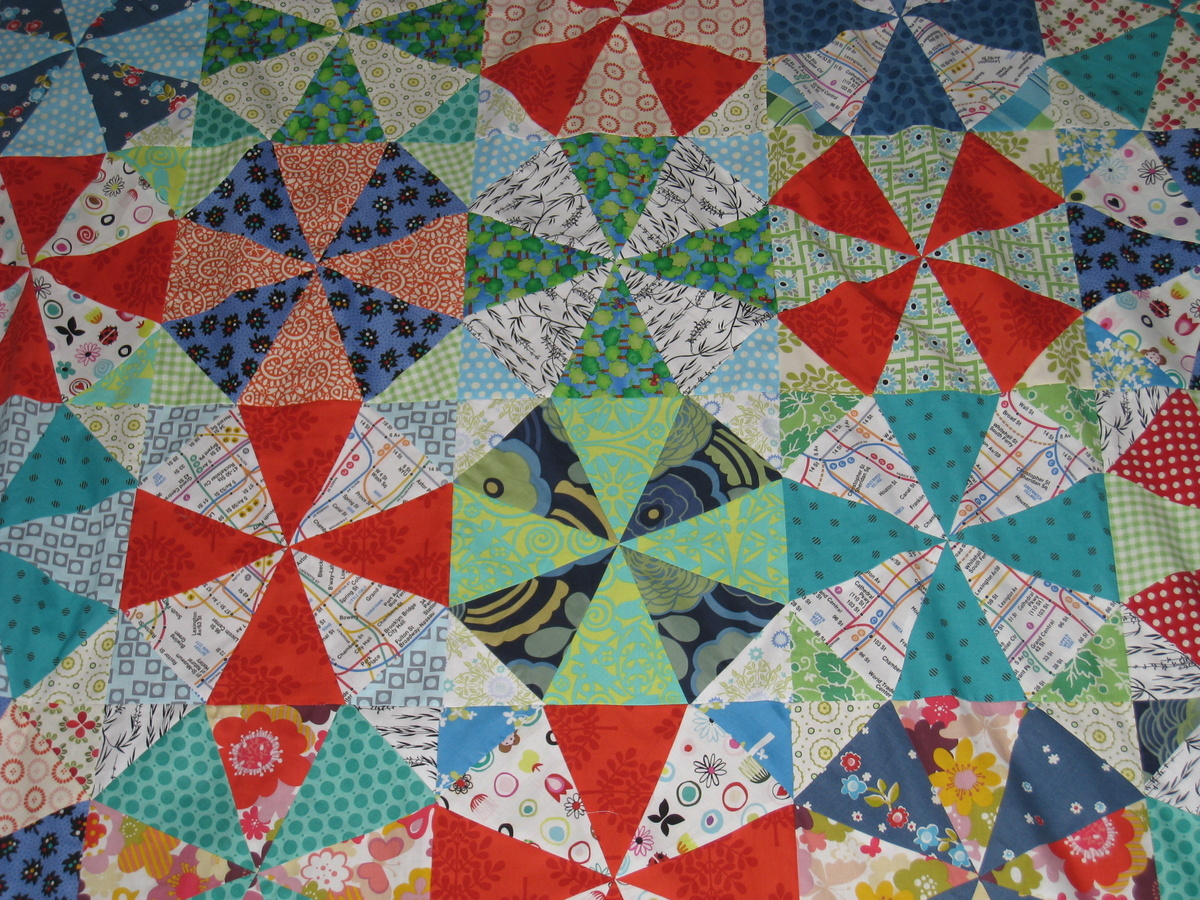 how to make a quilt template - noga quilts kaleidoscope quilt top finished