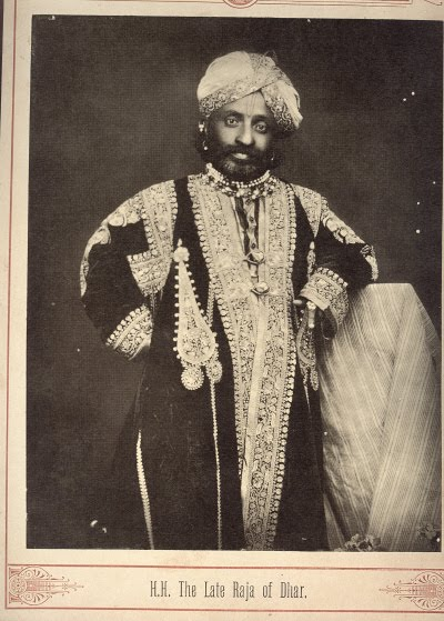 The Raja of Dhar - Late 19th Century Photograph