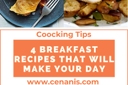 4 Breakfast Recipes That Will Make Your Day