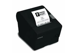 Printer EPSON TM-T88V Serial Dan USB