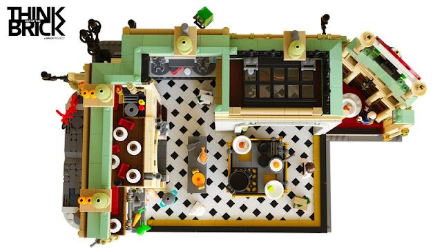 Ratatouille Kitchen LEGO
