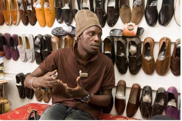 Ngaye, la capitale de la cordonnerie au Sénégal : Art, artisanat,  local, tradition, cordonnerie, fabrication, chaussure, Ngaay, Mékhé, Thiès, peau, cuir, homme, femme, LEUKSENEGAL, Dakar, Sénégal, Afrique