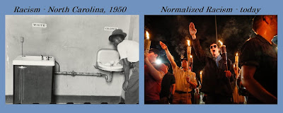 Racism - Past and Present  ... (Please click on picture to magnify.)