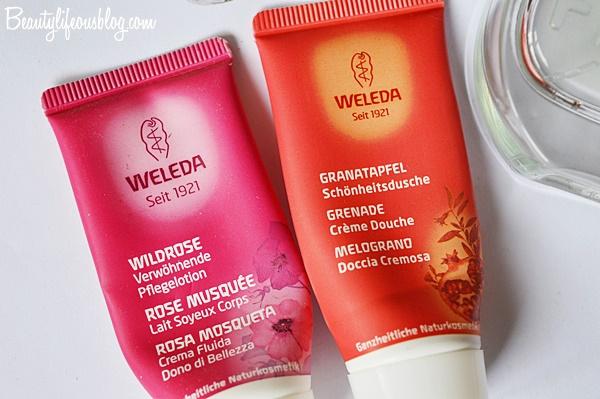 Weleda - Wildrose Pflegelotion & Granatapfel Schönheitsdusche