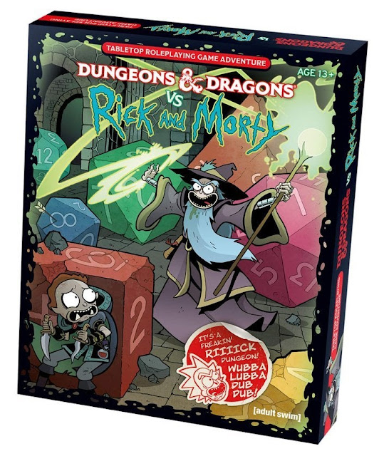 Crossover entre DeD e Rick and Morty se torna campanha de RPG