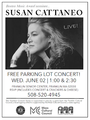 Concert at Senior Center - June 2 - two shows (1:00 PM, 2:30 PM)