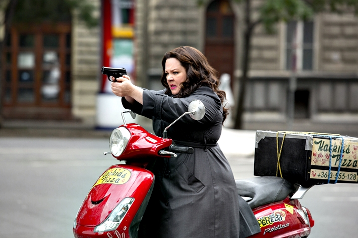 Espías (Spy, Paul Feig, 2015).