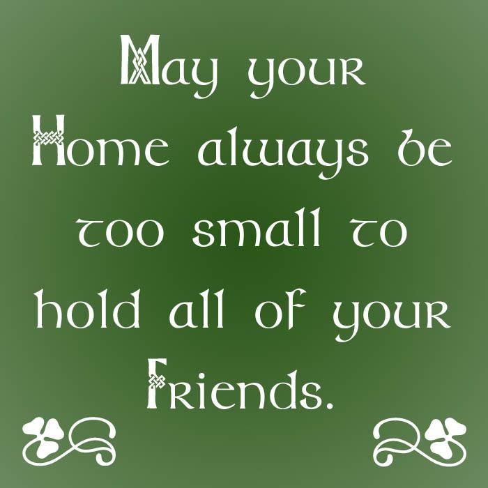 Irish Quotes Friendship Blessings. QuotesGram