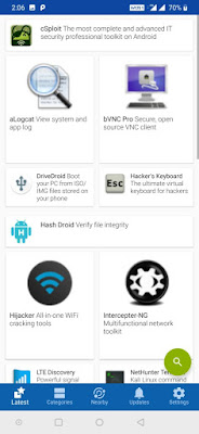كالي لينكس تطلق متجر Kali NetHunter App Store خاص بتطبيقات الإختراق للأندرويد