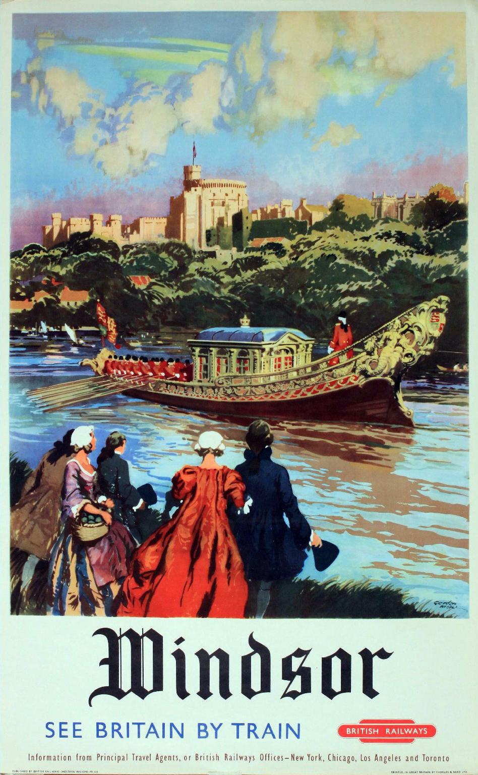 ART  ARTISTS Railway Posters  Part - Los angeles posters vintage