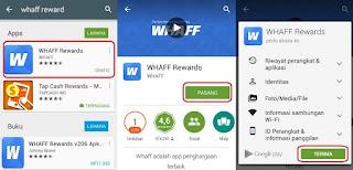 شرح تطبيق Whaff Rewads