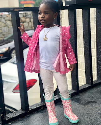 Imade Aurora Adeleke who is 3-years-old now is the first daughter and first child of Nigerian Afropop star Davido.