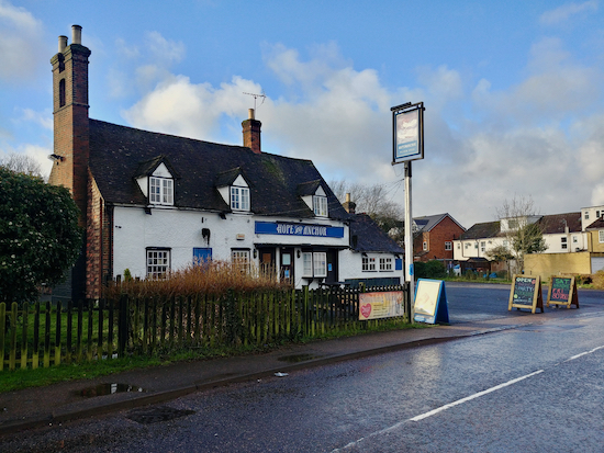The Hope and Anchor, Station Road, Welham Green - January 2020 Image by North Mymms News, released via Creative Commons BY-NC-SA 4.0