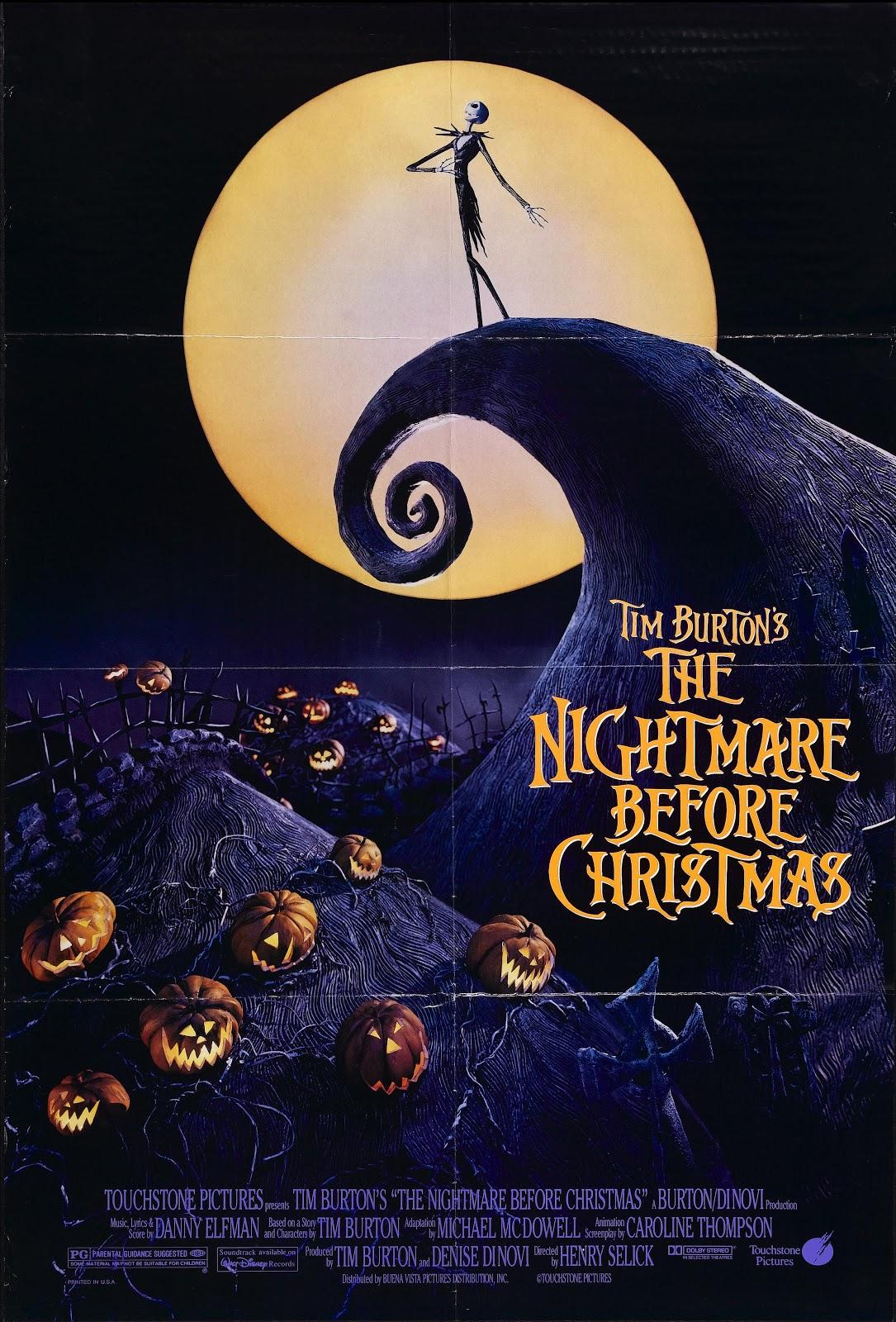 Todo El Terror Del Mundo Pesadilla Antes de Navidad The