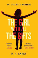 The Girl With All the Gifts by M.R. Carey book cover and review