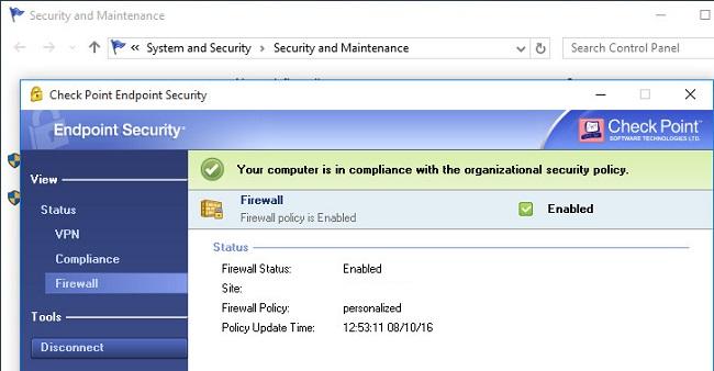 Checkpoint VPN Client Windows 10 Download 64 bit