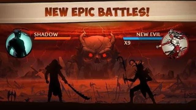 تحميل لعبة shadow fight 2 مهكرة للاندرويد من ميديا فاير