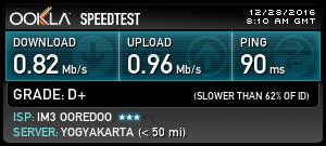 Cek Kecepatan Internet Komputer/PC