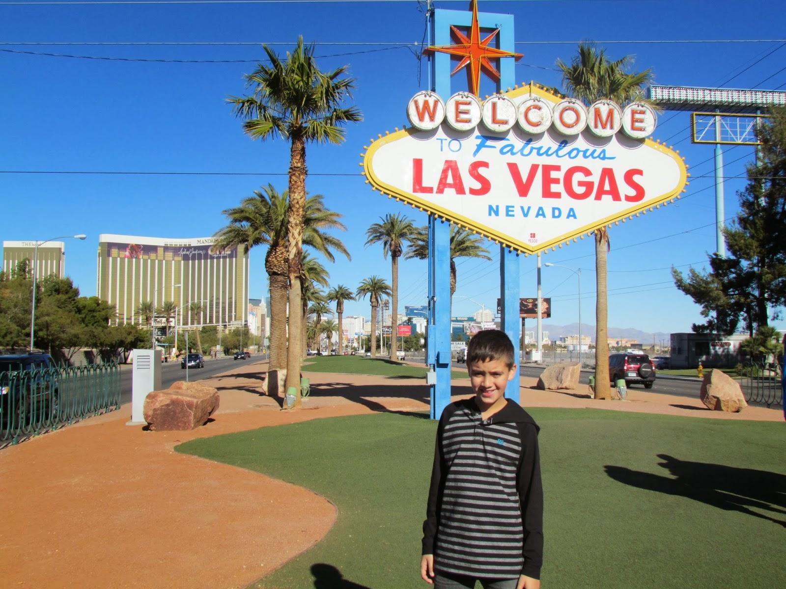 Crianças em Las Vegas
