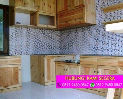 Jasa Kitchen Set Jati Belanda Cilebut Bogor 0812 9480 0847 0812