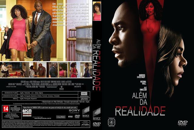 Capa DVD Além Da Realidade