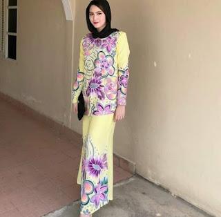 Baju-Gamis-Batik-Untuk-Pesta