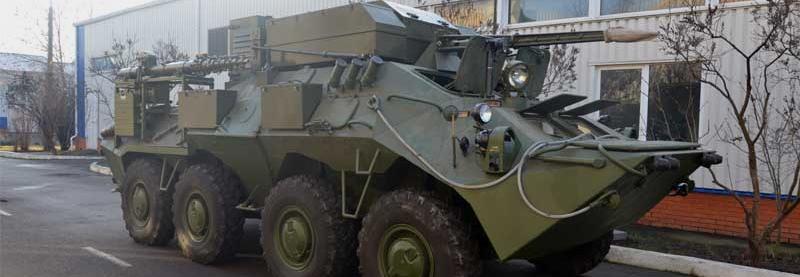 КШМ К-1450 на базі БТР-70КШ