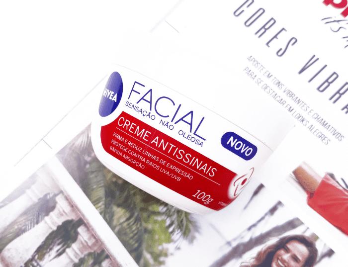 Nivea Facial Creme Antissinais (pote vermelho)