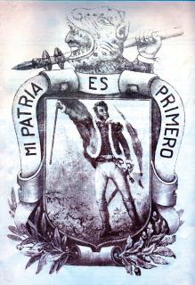 significado del escudo de guerrero