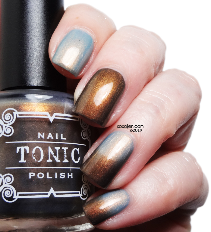xoxoJen's swatch of Tonic Tonic Break of Day
