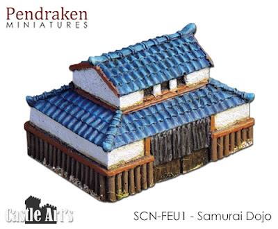 SCN-FEU1 Samurai Dojo picture 2