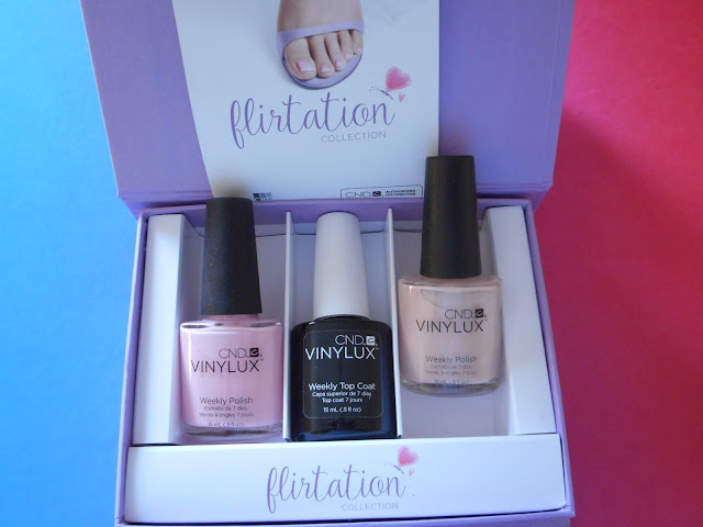 CND Vinylux Weekly Polish Flirtation Collection