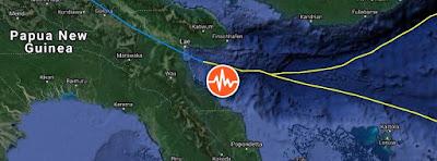 Sismo Papua Nueva Guinea, 17 de Julio 2020