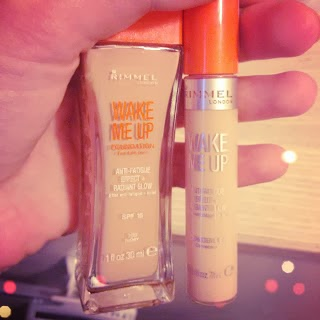 Rimmel Wake Me Up Foundation & Concealer