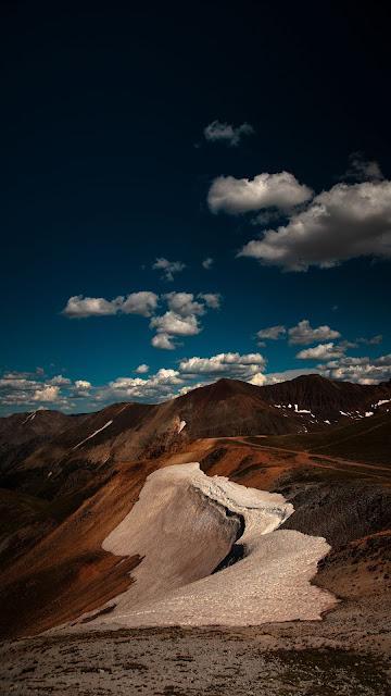 Mountains, Hills, Clouds, Landscape, Nature