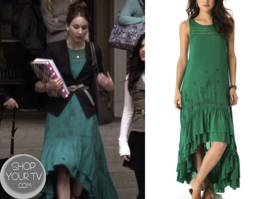 Pretty Little Liars Season 4 Episode 3 Spencer S Green High Low Dress